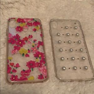 Kate Spade iPhone X Max covers